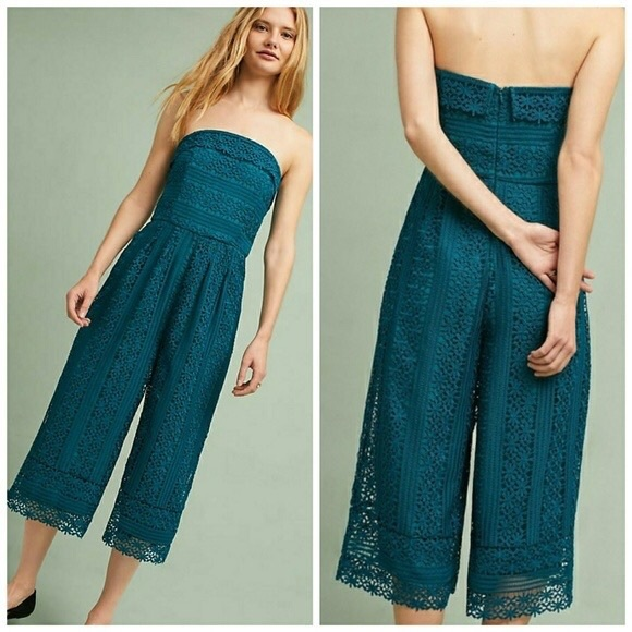 Anthropologie Pants - Anthropologie GREYLIN | Stowe Lace Jumpsuit